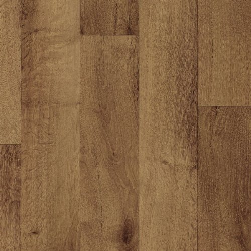 Gea Dark Beige Vinyl Flooring, 2.6mm Thick, 3m Wide 5m Long