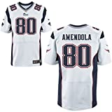 80 Danny Amendola Trikot New England Patriots Jersey American Football Shirt Mens White Size XL(48)