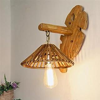 Hu0026M Wandleuchte Atcoe Weinlese Kreatives Wand Licht Handgemachtes  Bambus Wand Lampe
