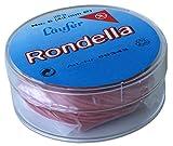 Läufer 50343 Rondella Gummiringe Nr. 6, Durchmesser 40 mm, 25g Runddose, rot, besonders langlebig