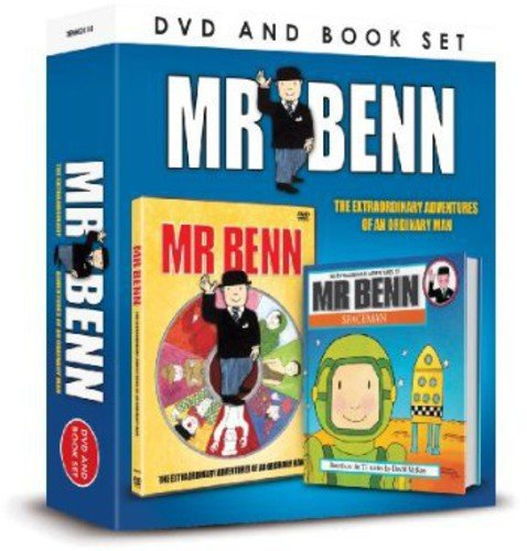 Mr Benn and Book Set [DVD]