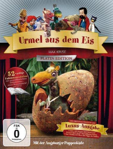 Urmel aus dem Eis - Platin-Edition mit Blu-ray (3 DVDs)