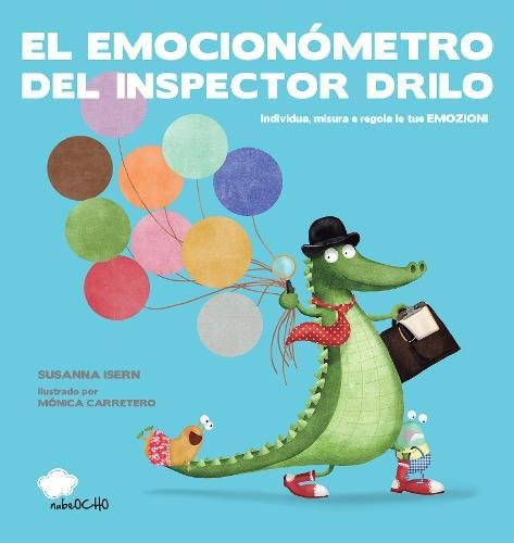 El Emocionómetro del Inspector Drilo (versión latina) por Susanna Isern