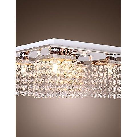 PJSKJZQ luz de cristal del techo modernas 5 luces , 220-240v