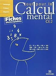 Tout pour le calcul mental CE2 : Livre du professeur