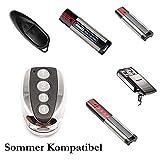 SOMMER 4020 TX03-868-4 Garagentorantrieb Handsender Ersatz - 4-befehl Fernbedienung 868 Mhz, Key Fob