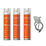 #7: OXY LIV Portable Oxygen Can With Oxygen Face Mask / Pack of 3 oxygen can & 1 oxygen face mask