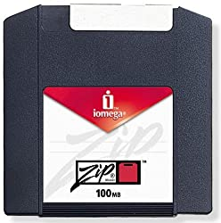 Iomega - Zip - 100 Mb - Mac Pc - Storage Media