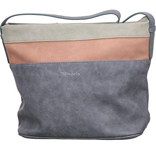 Tamaris Mode Accessoires KHEMA HOBO BAG R 2506181-818 KHEMA HOBO BAG R grau 525846 -