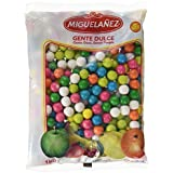 Miguelañez Bolsa Bolas de Chicle de Distintos Colores - 1000 gr - [Pack de 3]