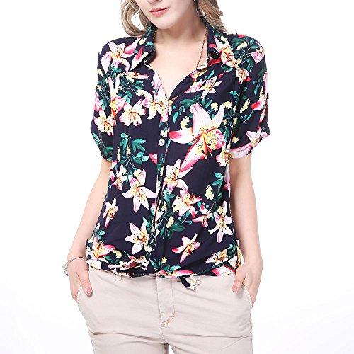 7c8745753bf8e Camisas hawaianas de mujer - Happy Hawaii