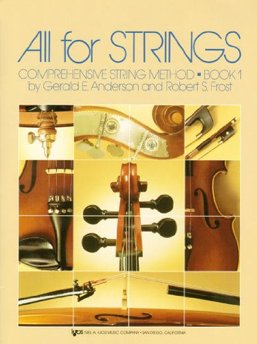 All for Strings: Comprehensive Strings Method: Book 1