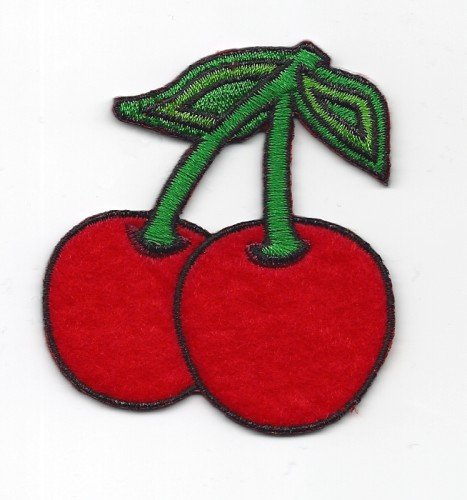 sew-on-lot-de-2-patch-brode-feutre-fruits-badge-de-cerises-cherry