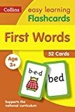#3: First Words Flashcards (Collins Easy Learning Preschool)