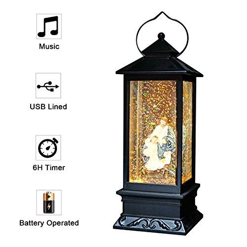 Eldnacele - Linterna con luz funciona con pilas