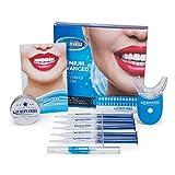 FUREIN SMILE blanqueamiento dental kit gel con gel de remineralización + dientes al carbón que blanquean polvo