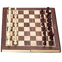 Jaques-Schachkassette-Komplett-Handgeschnitzt-Echt-Jaques-Schachspiel-mit-Faltschachbrett-Etui Jaques Schachkassette – Komplett Handgeschnitzt Echt Jaques Schachspiel mit Faltschachbrett & Etui -