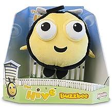 The Hive Buzzbee 2121 - Peluche de abeja en caja expositora (16,5 cm)