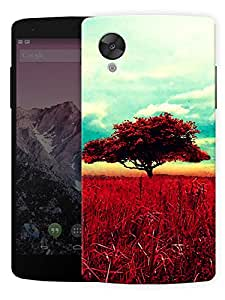 "Humor Gang Vintage Old Tree Printed Designer Mobile Back Cover For ""Lg Google Nexus 5"" (3D, Matte Finish, Premium Quality, Protective Snap On Slim Hard Phone Case, Multi Color)"