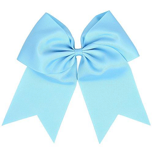 Ruban pour cheveux de 15,2 cm - Boutique Hair Bows - Grandes tailles - Large bande élastique - Bandeau pour cheveux pour filles - Montage sur natte