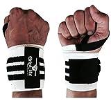 GripElite | Handgelenk Bandagen Bodybuilding | Sport Handgelenkschutz - Handgelenksschoner für CrossFit, Gymnastik, Gewichtheben | Wrist Wraps für optimalen Schutz des Handgelenks