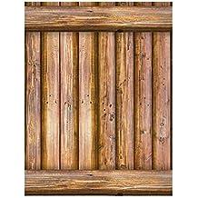 Etiqueta de la pared, decoración del hogar autoadhesivo del efecto rústico de madera del ladrillo