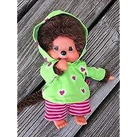 Puppenkleidung handmade für MONCHICHI Gr.20 MONCHHICHI Bekleidung Kapuzenshirt Hoodie + Hose Kleidung
