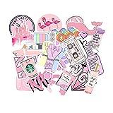 SOOKi 50 Pcs Rose Style Graffiti Autocollants pour Voiture & Valise Cool Ordinateur...