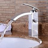 ZLL Haute qualité mode contemporaine style Chrome robinet évier de salle de bain