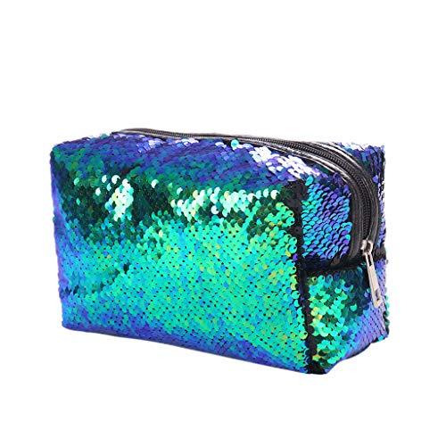 Mermaid Sequin Bag Cosmetic Bag Magic Lentejuelas