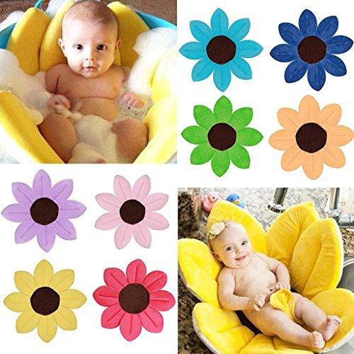 Baby Bath Blooming Blume Badewanne - Highdas Blühendes Bad Blumenbad für Baby Blooming Sink Bad für Baby Infant Lotus - 4