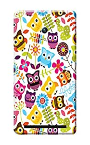 Asus Zenfone 5 Back Cover, Premium Quality Designer Printed 3D Lightweight Slim Matte Finish Hard Case Back Cover for Asus Zenfone 2 by Tamah