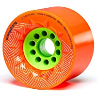 Orangatang Caguama 85 mm Downhill Longboard Skateboard Cruising Wheels (Set of 4)