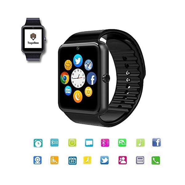 TagoBee TB09 IP67 Pulsera de Actividad Fitness Tracker smartwatch Monitorización de la presión Arterial Notificaciones… 2
