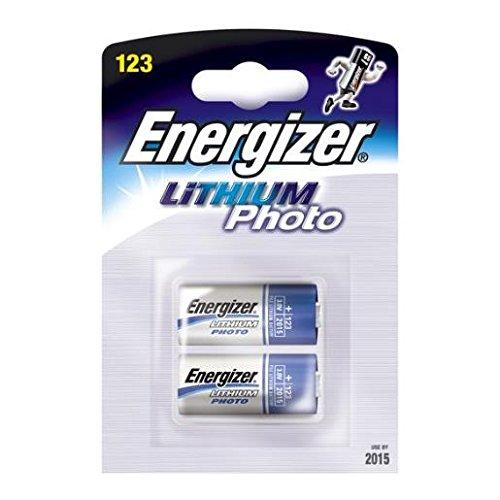 6 BATTERIE CR123 LITIO 3V ENERGIZER (CR123A-CR17345-DL123A-EL123AP) LITHIUM PHOTO
