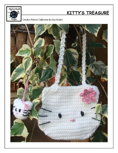 Kitty's Treasure - Crochet Pattern #130 for Bag and Keychain (English Edition)