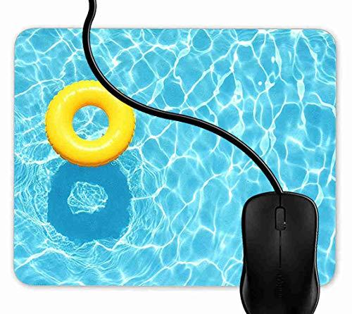 Preisvergleich Produktbild Mauspad Holiday Pool Gummiring Rutschfeste Gummi Basis Mouse pad,  Gaming mauspad für Laptop,  Computer 1F1175