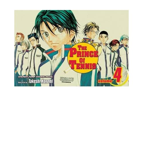 THE PRINCE OF TENNIS, VOLUME 4 BY Konomi, Takeshi[Paperback] ON 11-2004
