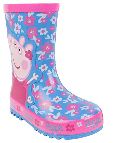 Peppa Pig Flower Girl's Wellies (6 UK Kids) (Armee Stiefel Für Kinder)