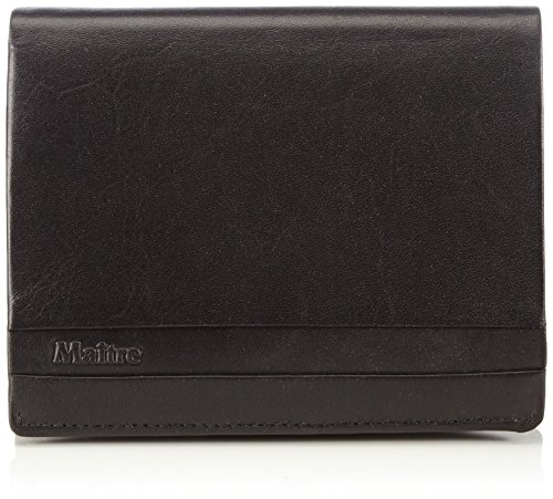 Maitre (HF) 4060000594 Unisex-Erwachsene Geldbörsen 10x13x1 cm (B x H x T) Schwarz (Black 900)