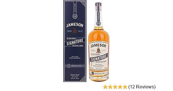 Jameson Irish Whiskey bottle caps 1000 ml FREE SHIPPING! 100