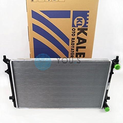 KALE Wasserkühler Motorkühlung SEAT TOLEDO III (5P2) 1.6 / 2.0