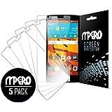 LG Volt Protection d'écran 2pour, ultra transparent Pack de 5–Mpero