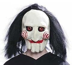 Idea Regalo - Originale Jig Saw Assassino Deluxe Maschera in lattice Halloween Carnevale