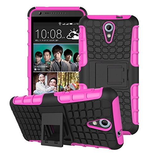 Zokney Pink backcover for htc desire 620g