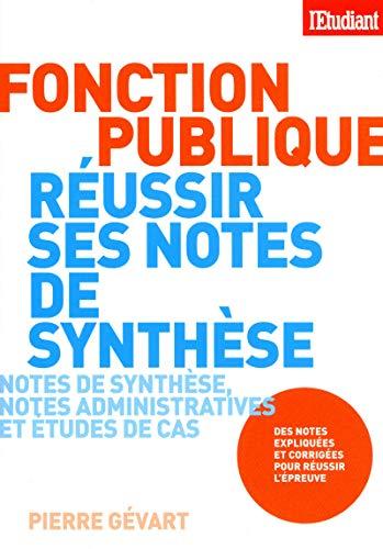 REUSSIR SES NOTES DE SYNTHESE