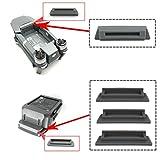 Kingwon 3 x Slicone Battery Charging Port Terminal Cover Cap Dustproof for DJI Mavic Pro ,1 x Slicone Anti-Dust Protector Cover for DJI Mavic Pro Battery Frame Grey