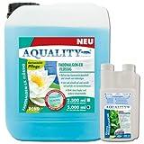 AQUALITY Fadenalgen-EX Flüssig für Ihren Gartenteich 5.000 ml (GRATIS Lieferung innerhalb Deutschlands - Flüssiger Fadenalgenvernichter, Algenmittel und Algenentferner für Ihren Gartenteich. Jetzt noch bessere Wirkung. Löst sich sehr schnell im Teich auf)
