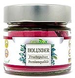 Holunder Fruchtpulver der Marke GESUMAX® .✅Reines Naturprodukt. ❤️ Alt bekanntes Mittel bei Erkältung.