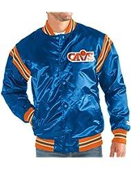 Cleveland Cavaliers NBA Men's Starter The Enforcer HWC Logo Premium Satin Jacket Veste